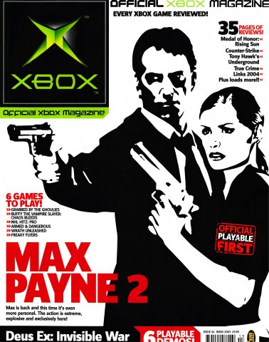 Official UK Xbox Magazine Issue 24 - Xmas 2003