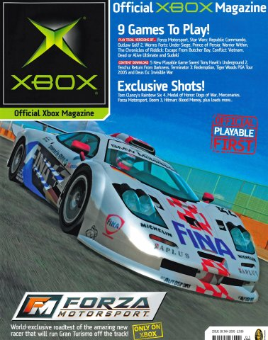 Official UK Xbox Magazine Issue 38 - January 2005