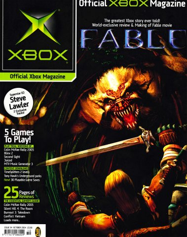 Official UK Xbox Magazine Issue 34 - October 2004