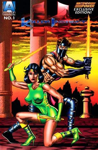 Killer Instinct Nintendo Power Exclusive Edition Issue 1 (1996)