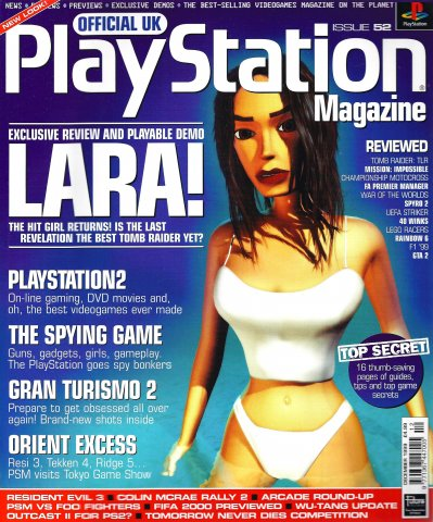 Official UK PlayStation Magazine Issue 052 (December 1999)