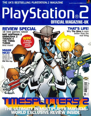 Official Playstation 2 Magazine UK 025 (October 2002)