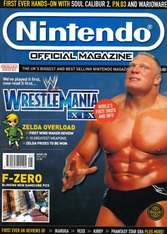 Nintendo Official Magazine 128 (May 2003)
