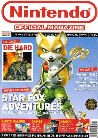 Nintendo Official Magazine 121 (October 2002)