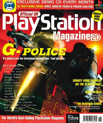Official UK PlayStation Magazine Issue 020 (June 1997)