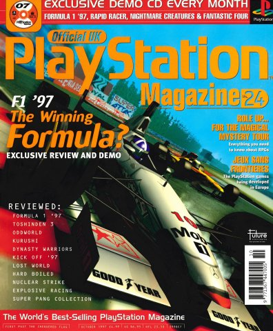 Official UK PlayStation Magazine Issue 024 (October 1997)