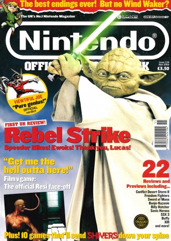 Nintendo Official Magazine 134 (November 2003)