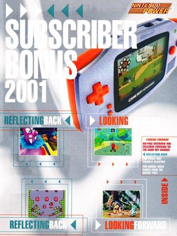 Nintendo Power Subscriber Bonus 2001