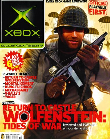 Official UK Xbox Magazine Issue 16 - May 2003