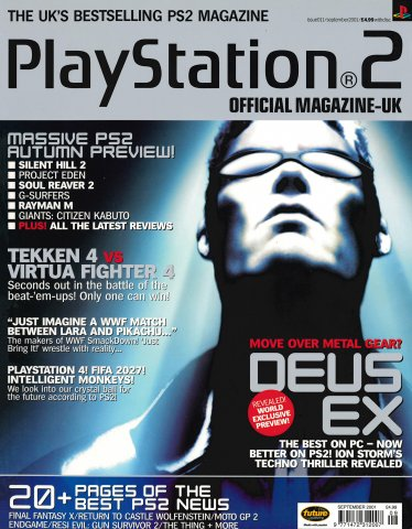 Official Playstation 2 Magazine UK 011 (September 2001)