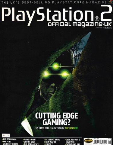 Official Playstation 2 Magazine UK 058 (April 2005)