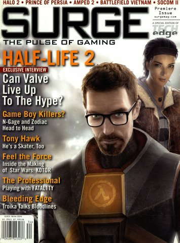 Surge Issue 01 (Winter 2004)