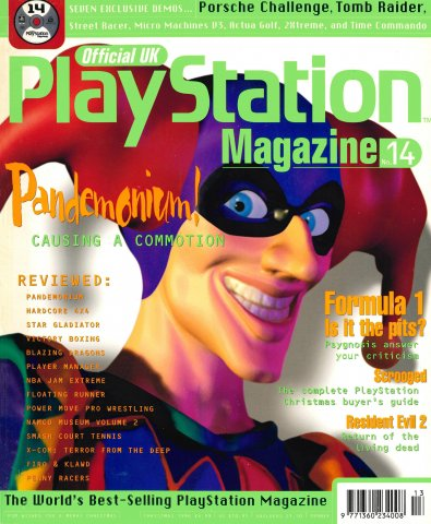 Official UK PlayStation Magazine Issue 014 (Christmas 1996)