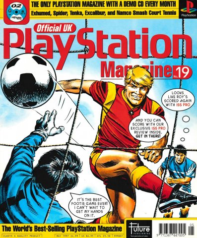 Official UK PlayStation Magazine Issue 019 (May 1997)