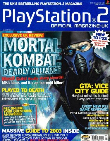 Official Playstation 2 Magazine UK 029 (January 2003)