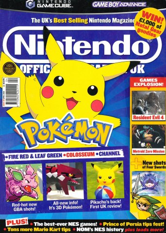 Nintendo Official Magazine 139 (April 2004)