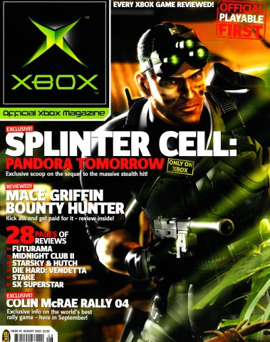 Official UK Xbox Magazine Issue 19 - August 2003