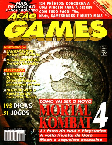 Acao Games Issue 128 (June 1998)