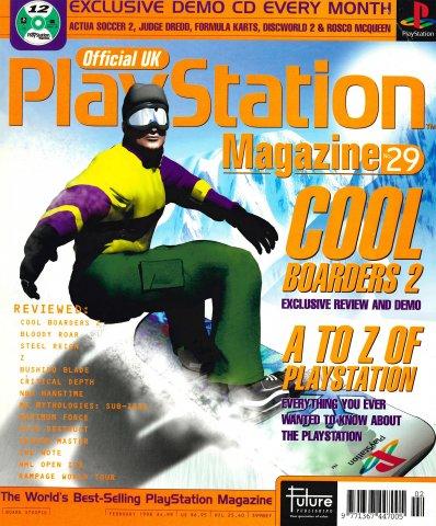 Official UK PlayStation Magazine Issue 029 (February 1998)