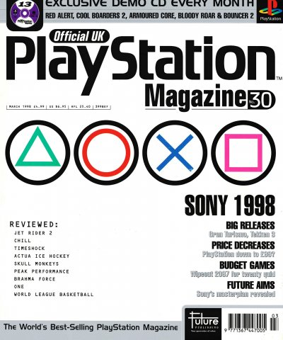 Official UK PlayStation Magazine Issue 030 (March 1998)