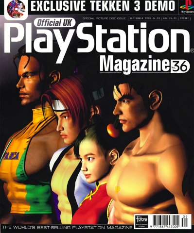 Official UK PlayStation Magazine Issue 036 (September 1998)