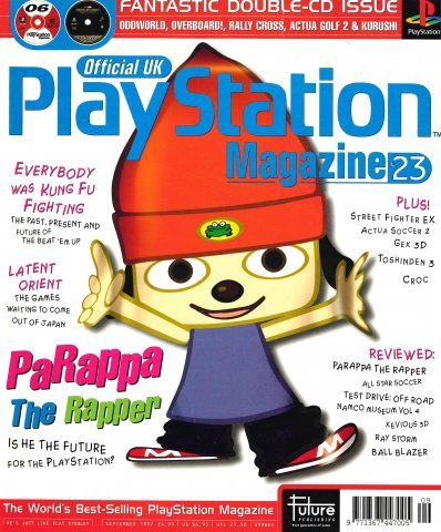 Official UK PlayStation Magazine Issue 023 (September 1997)