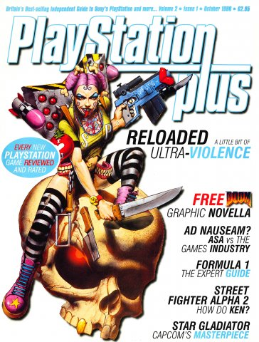 PlayStation Plus Issue 013 (October 1996)