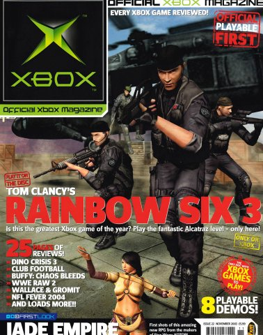Official UK Xbox Magazine Issue 22 - November 2003