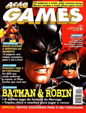 Acao Games Issue 132 (October 1998)