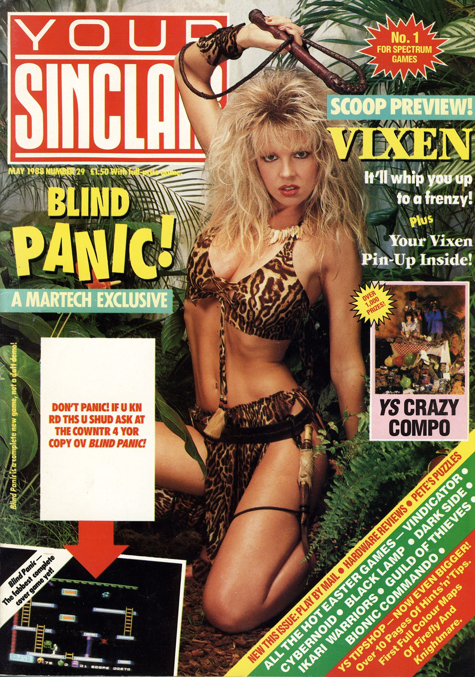 Your Sinclair Issue 29 (May 1988)