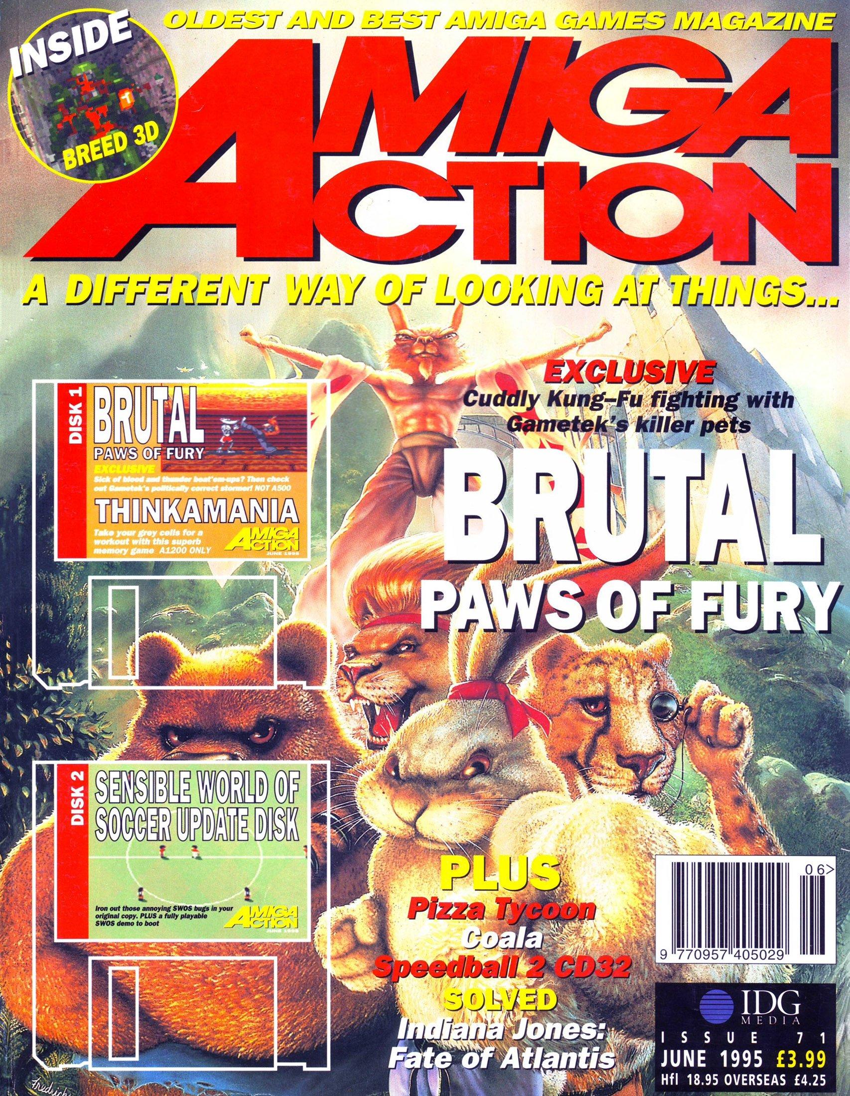 Amiga Action 071 (June 1995)