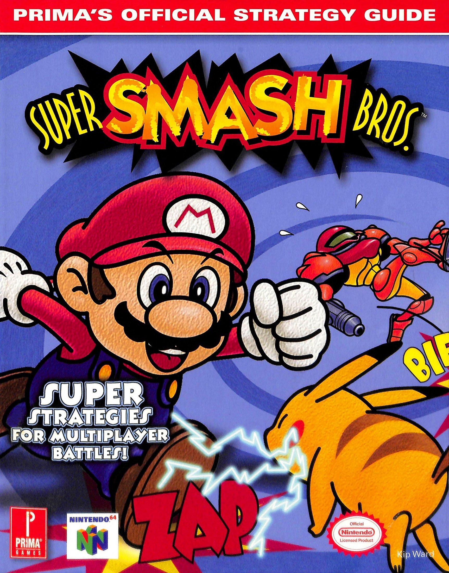Super Smash Bros. Official Prima Guide