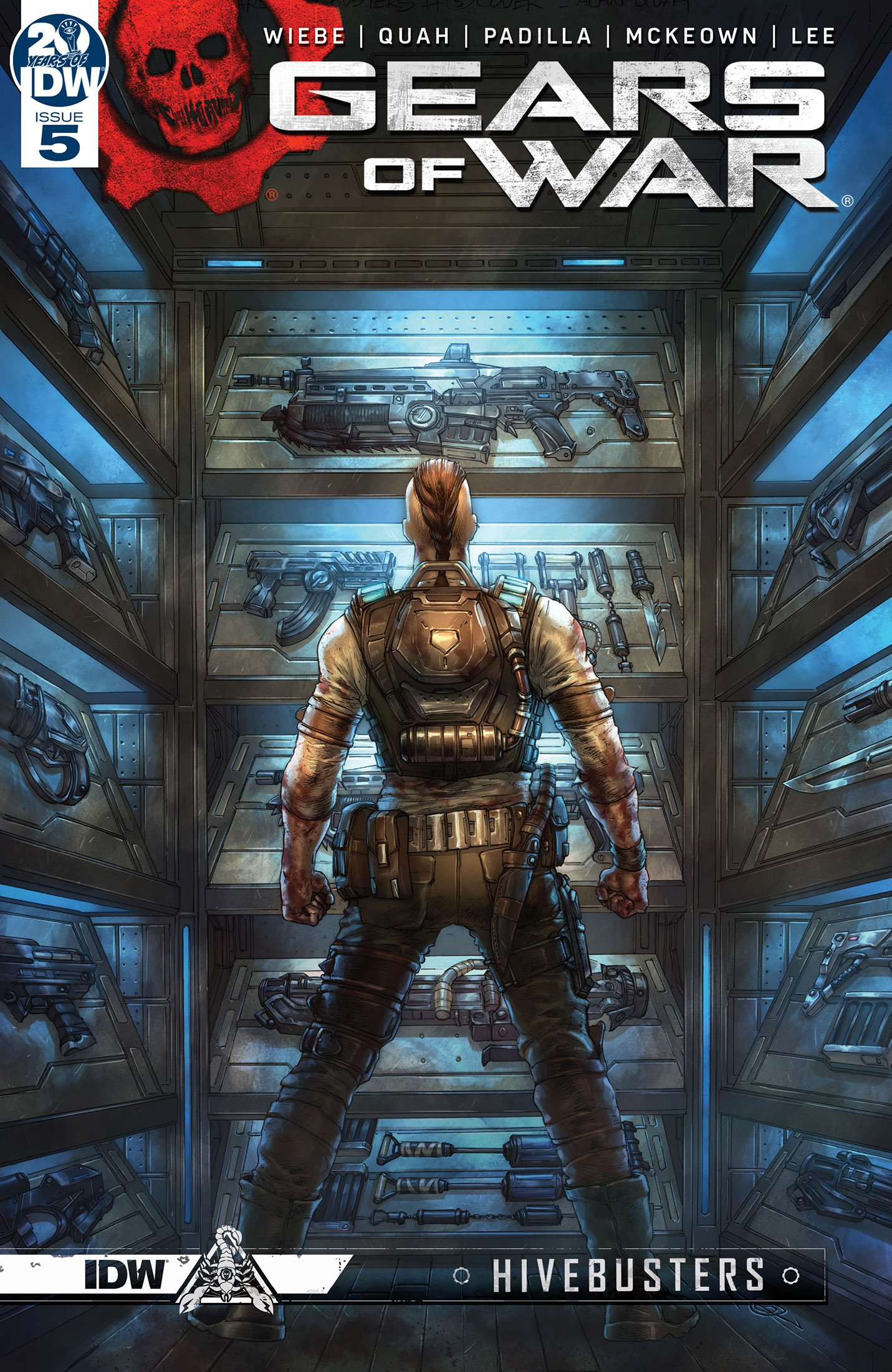 Gears of War - Hivebusters 005 (July 2019)