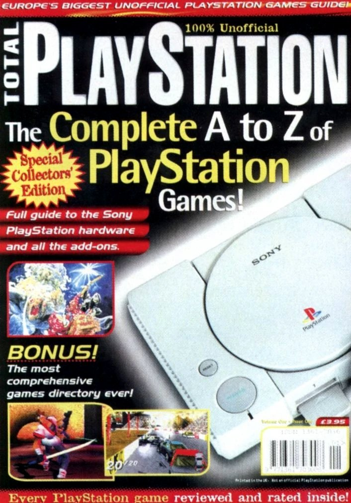 Total PlayStation Issue 01 (February 1996)