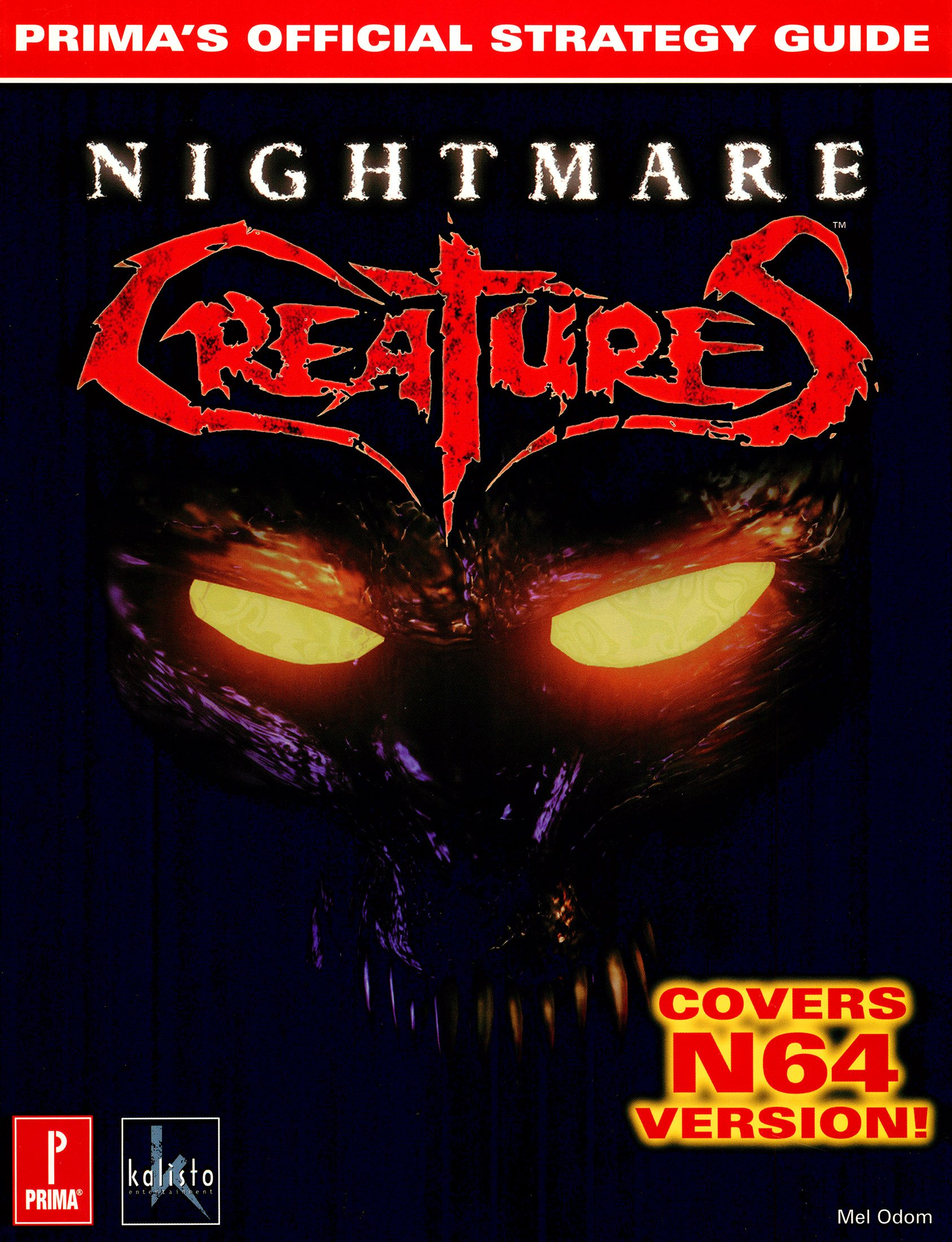 Nightmare Creatures - Prima's Official Strategy Guide