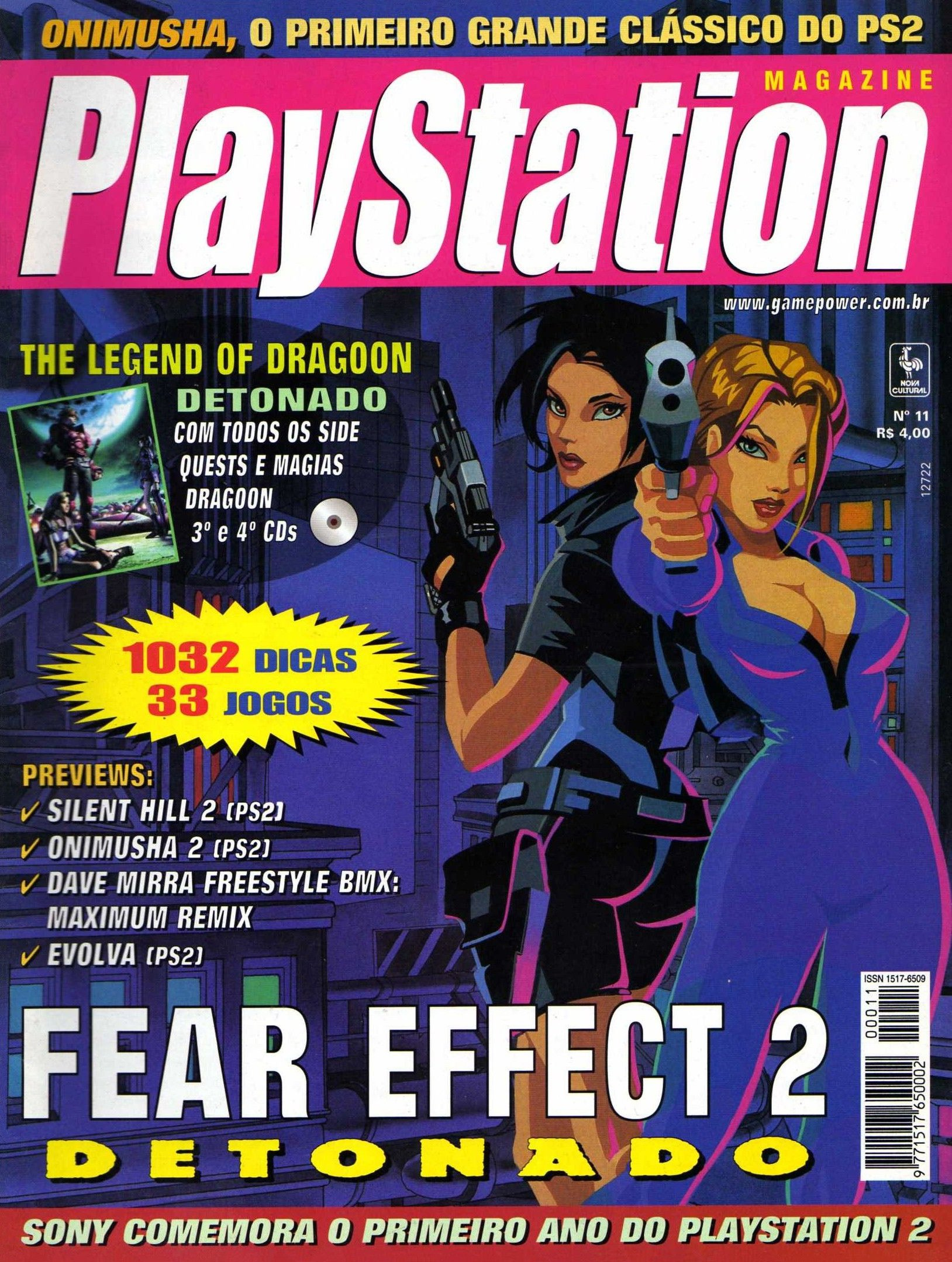 SGP Playstation Magazine Issue 11 (March 2001)