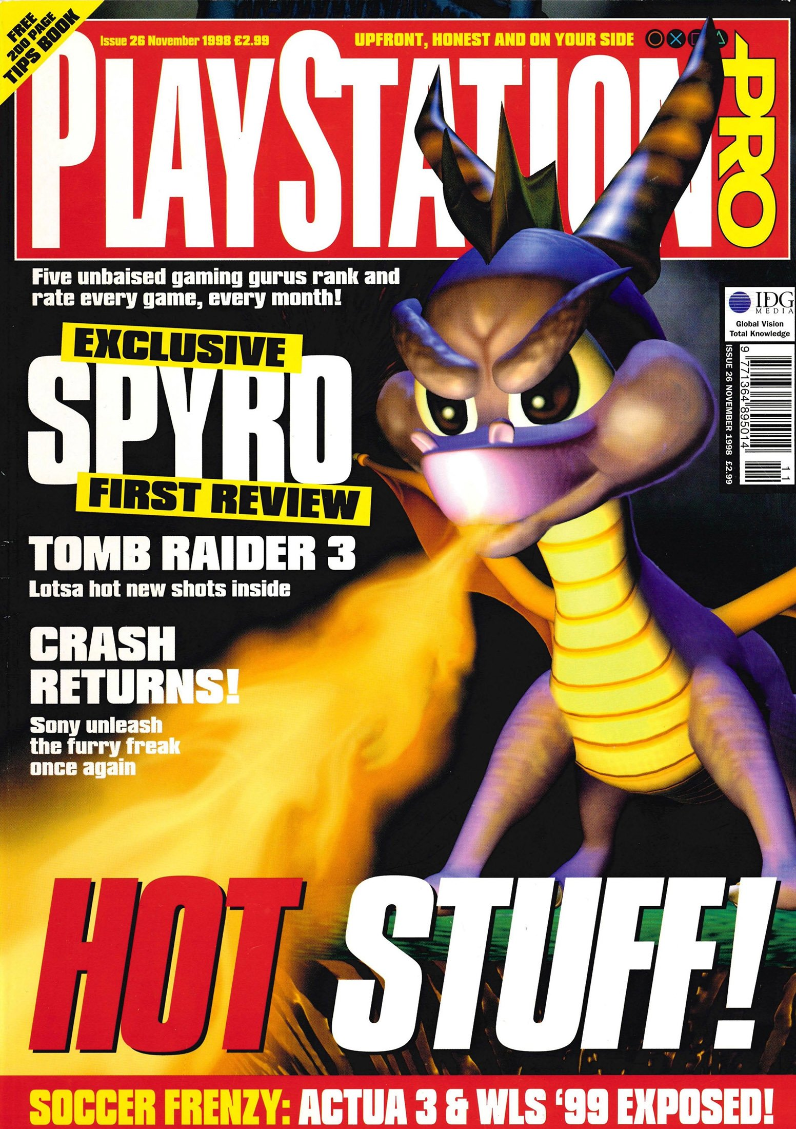 PlayStation Pro Issue 26 (November 1998)