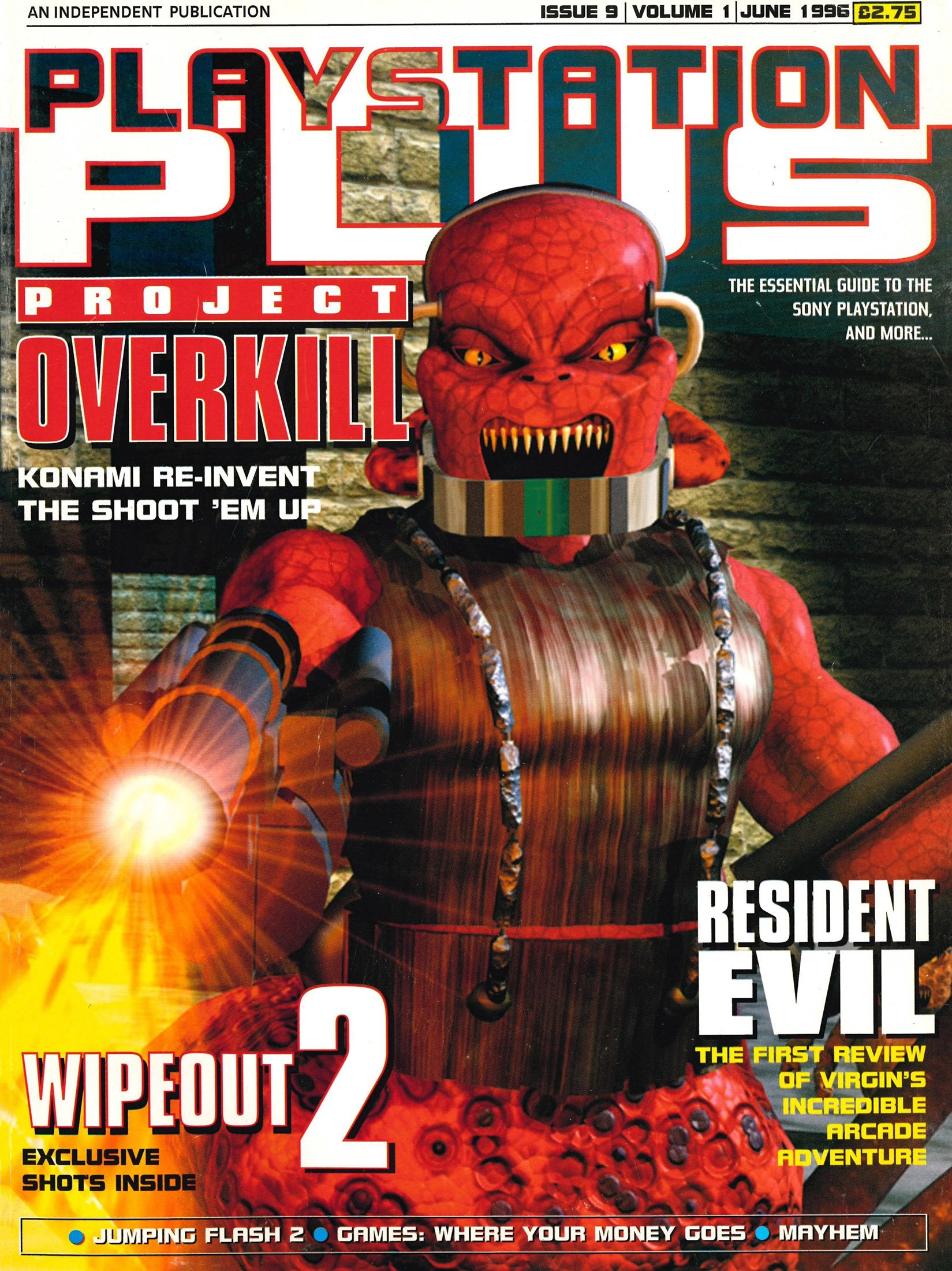 PlayStation Plus Issue 009 (June 1996)