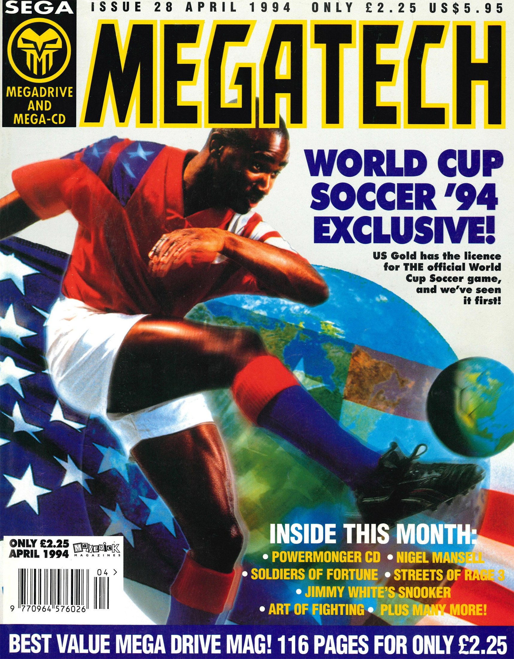 MegaTech 28 (April 1994)