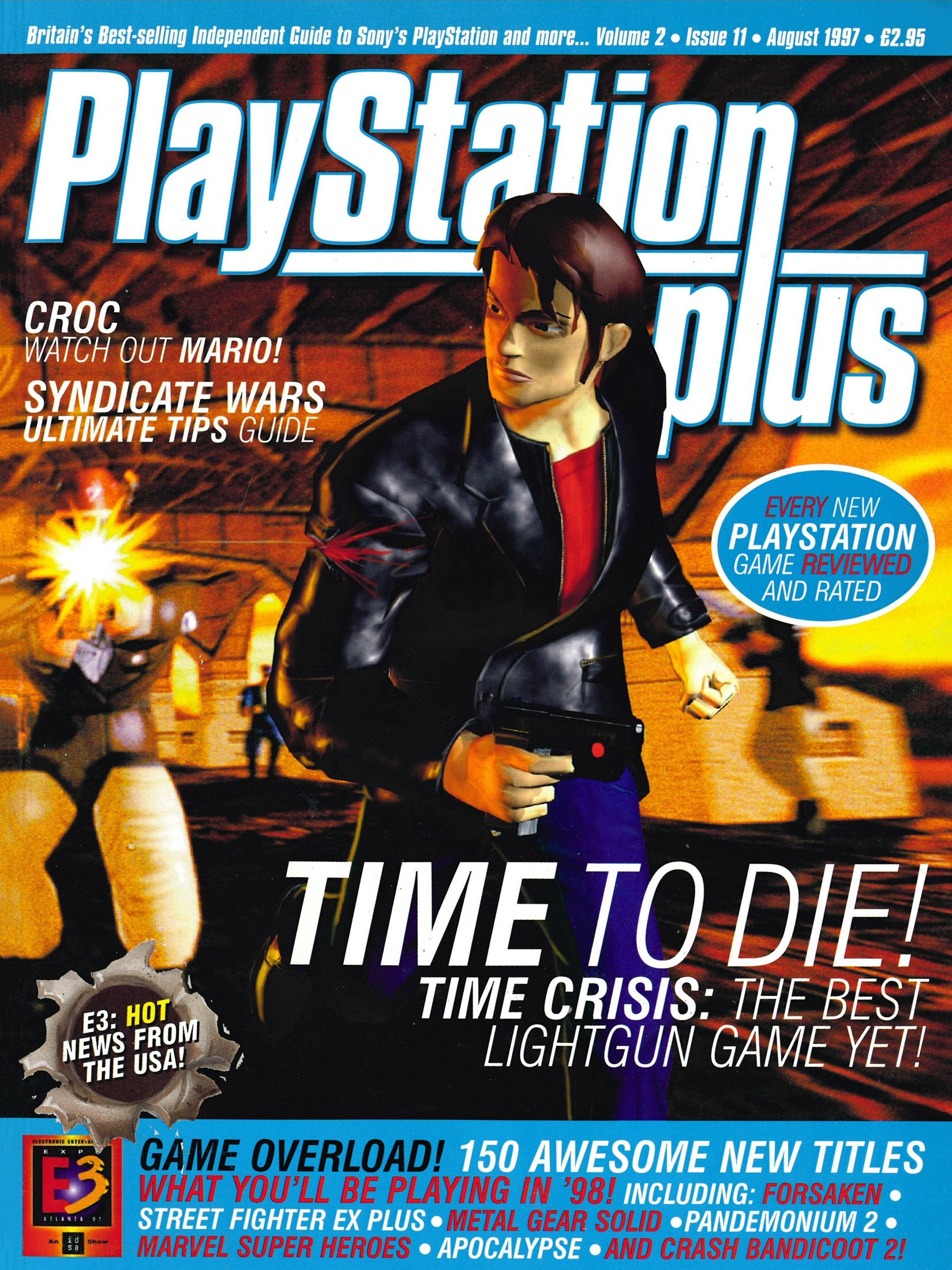 PlayStation Plus Issue 023 (August 1997)