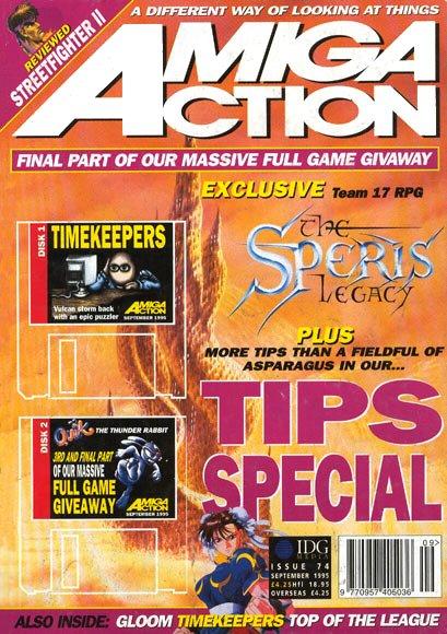 Amiga Action 074 (September 1995)