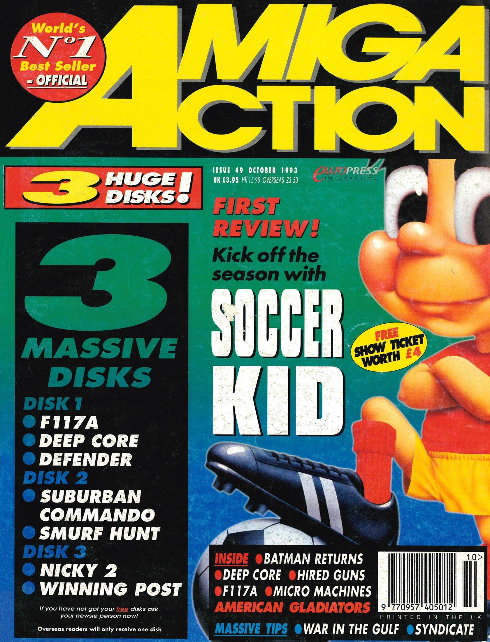 Amiga Action 049 (October 1993)