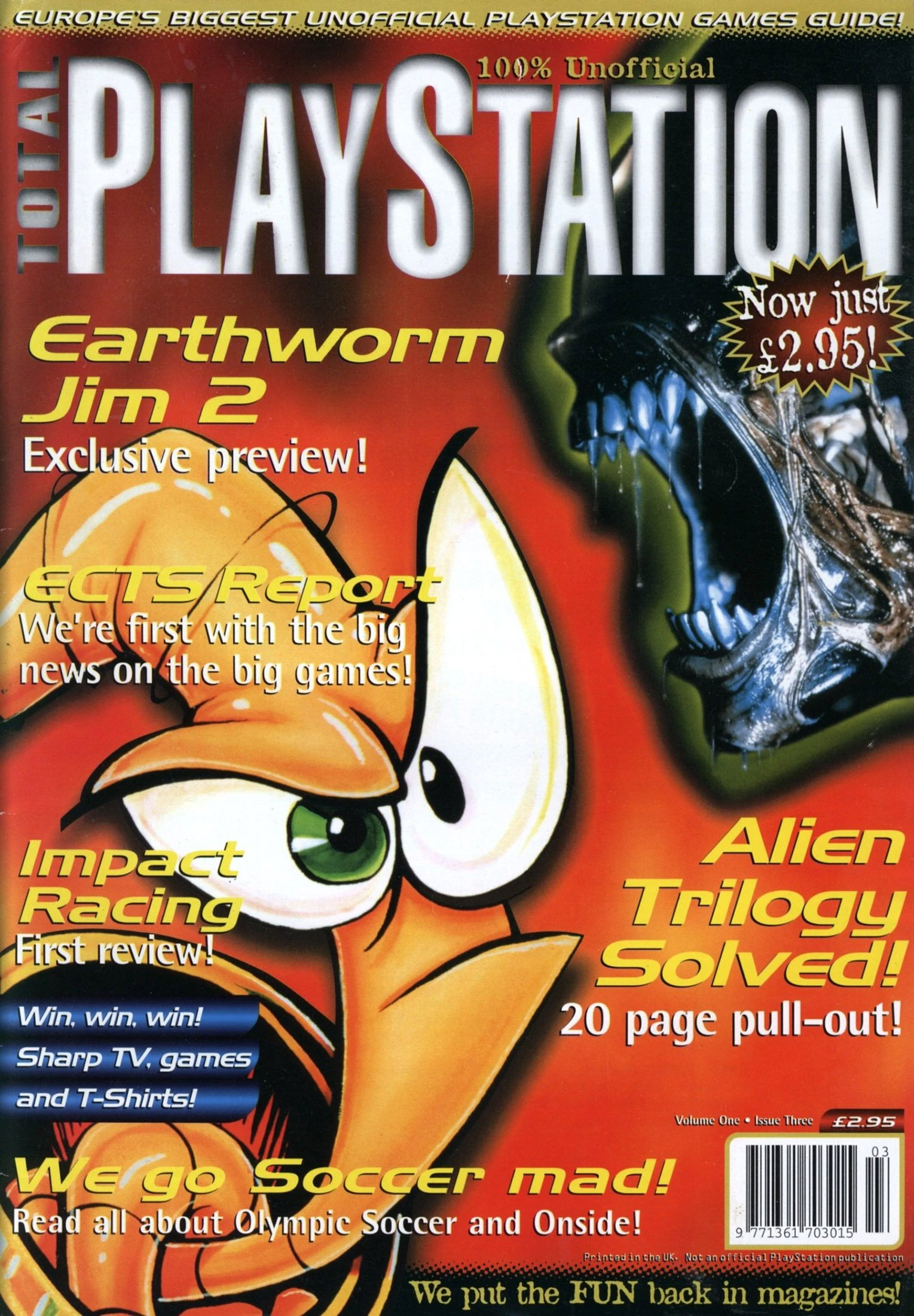 Total PlayStation Issue 03 (May 1996)