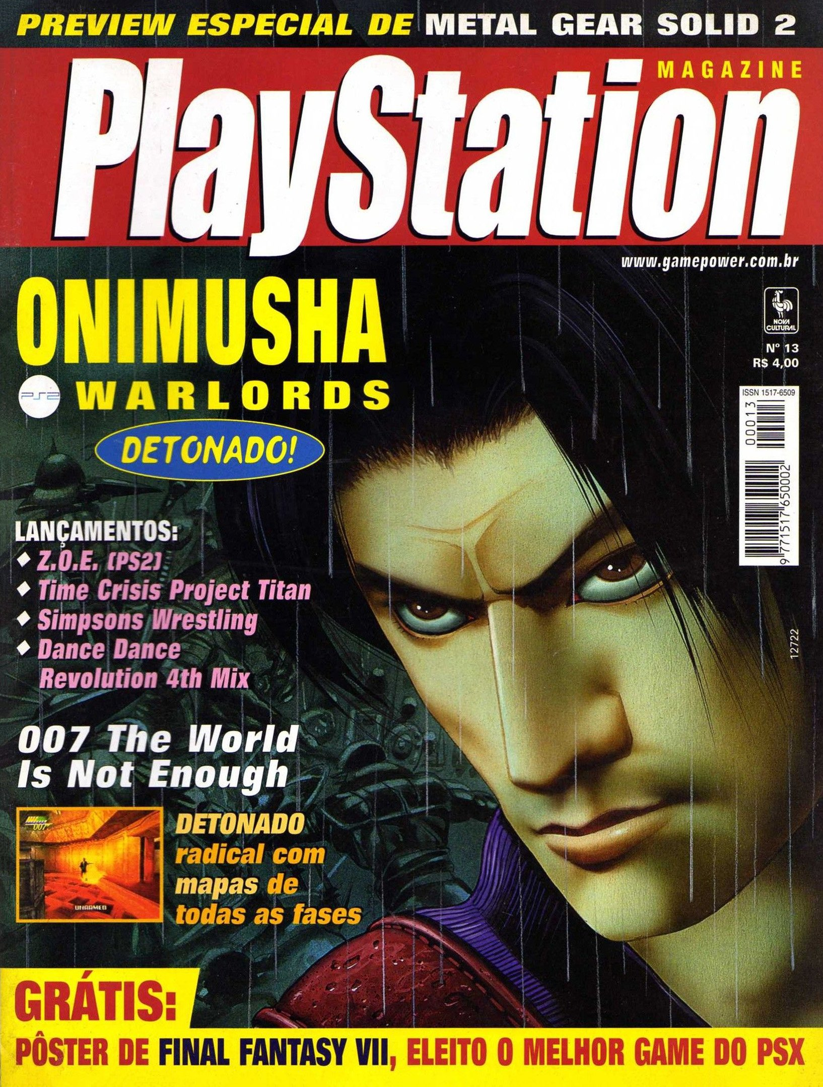SGP Playstation Magazine Issue 13 (May 2001)