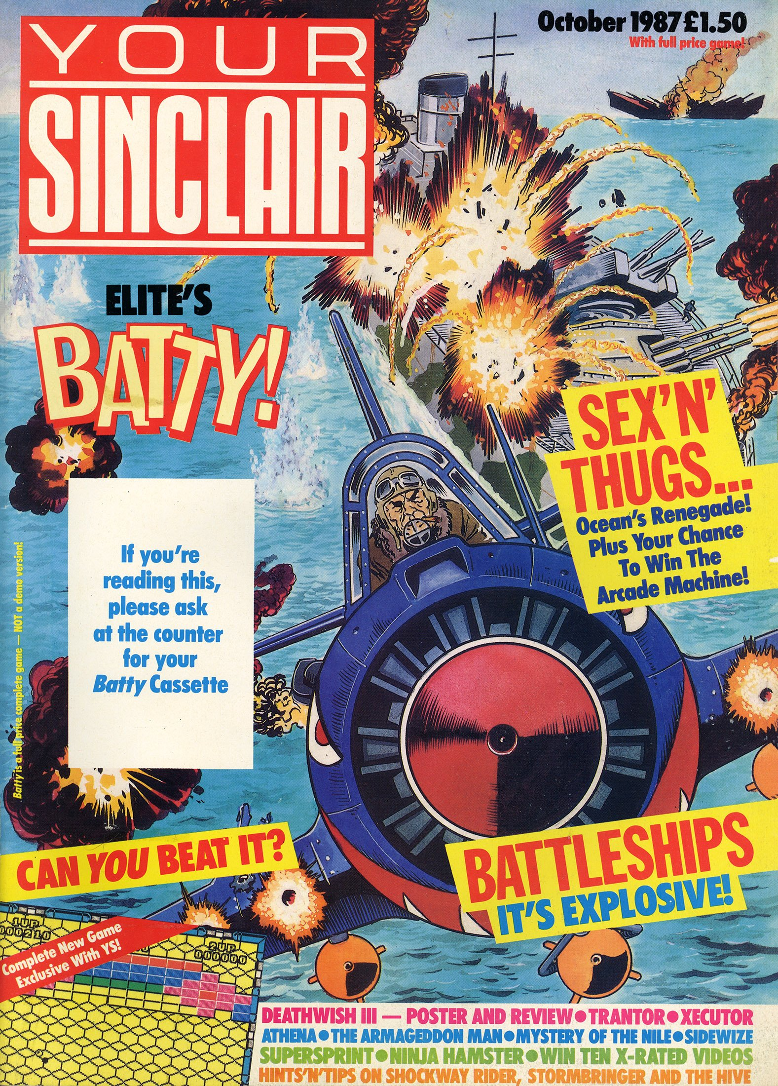 Your Sinclair Issue 22 (October 1987)