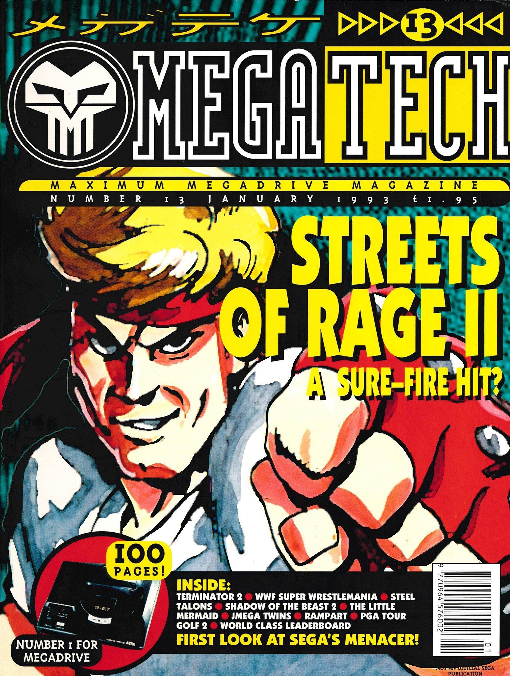 MegaTech 13 (January 1993)