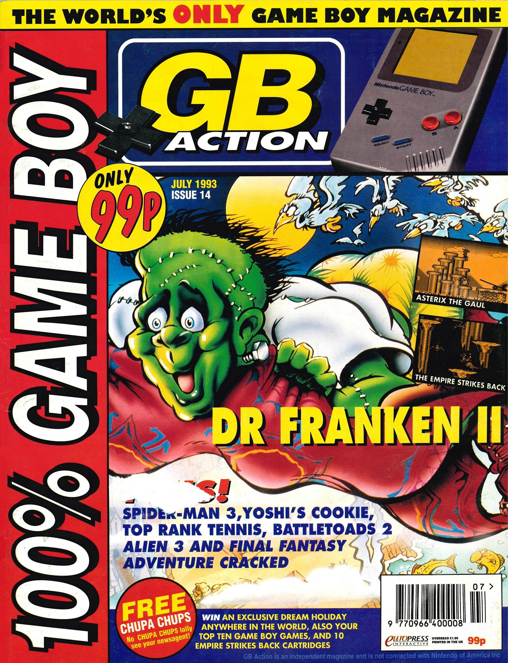 GB Action Issue 14 (July 1993)