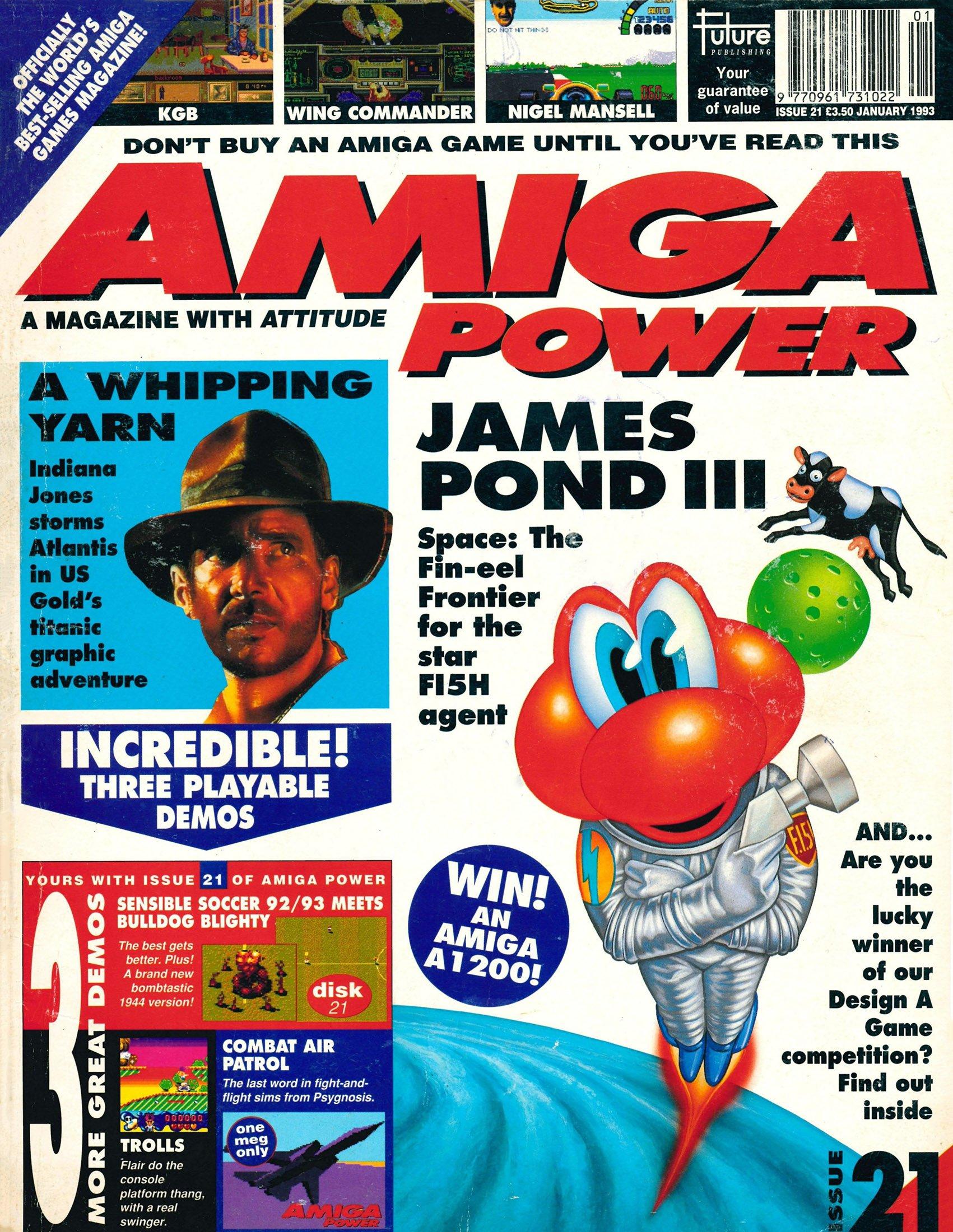 Amiga Power Issue 21 (January 1993)