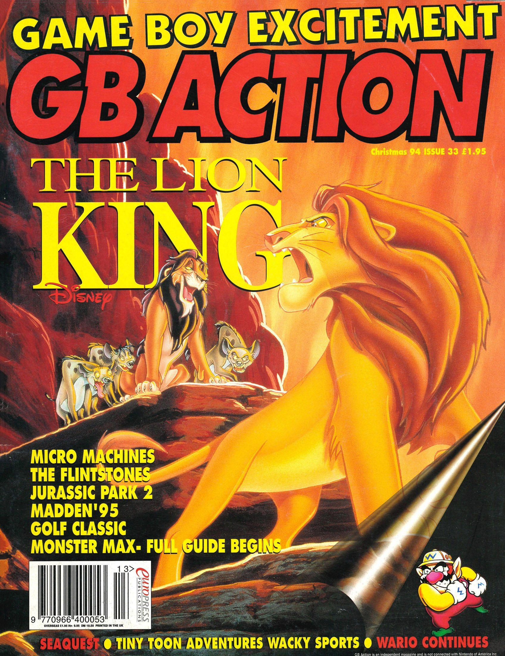 GB Action Issue 33 (Christmas 1994)