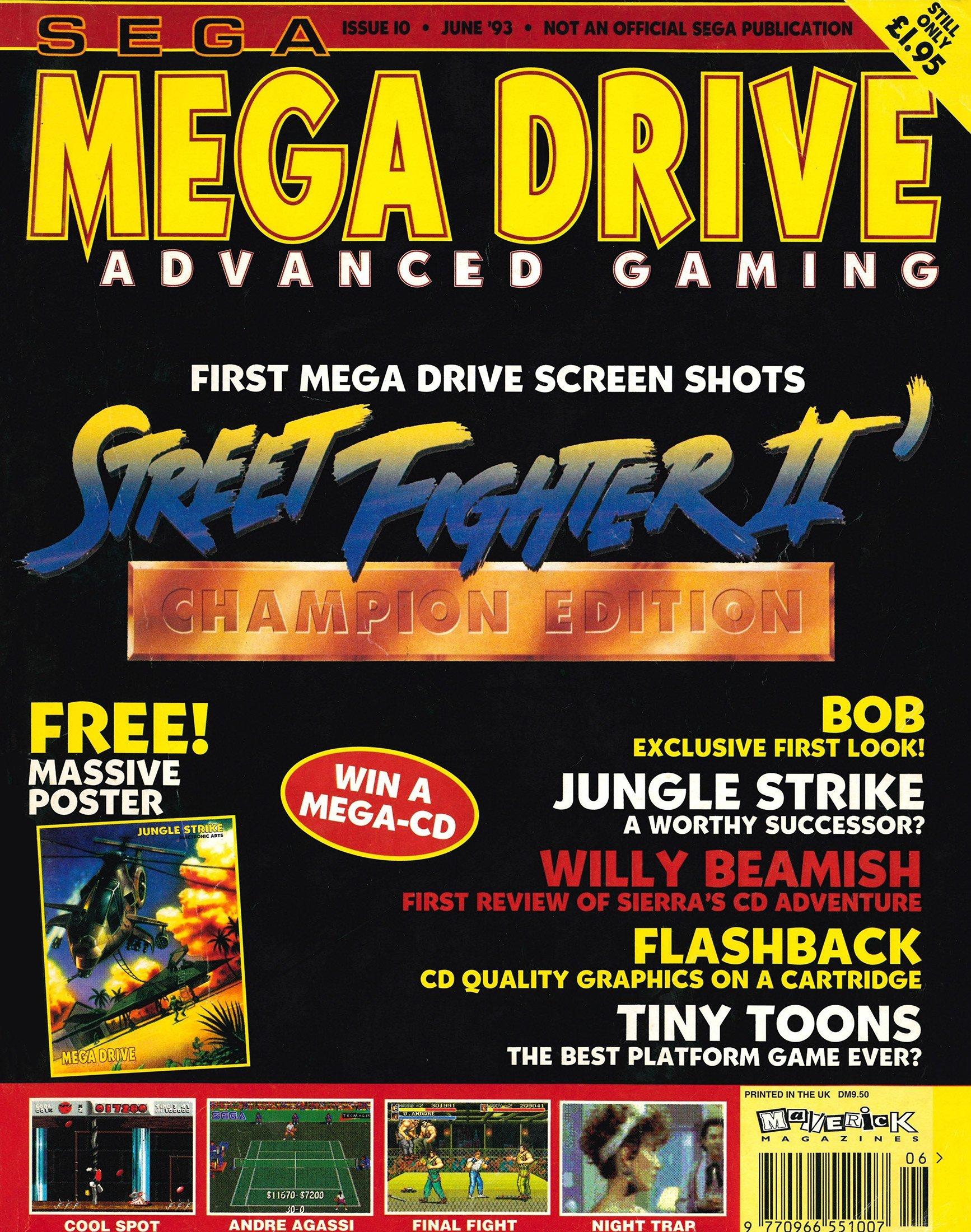 Mega Drive Advanced Gaming 10 (June 1993)
